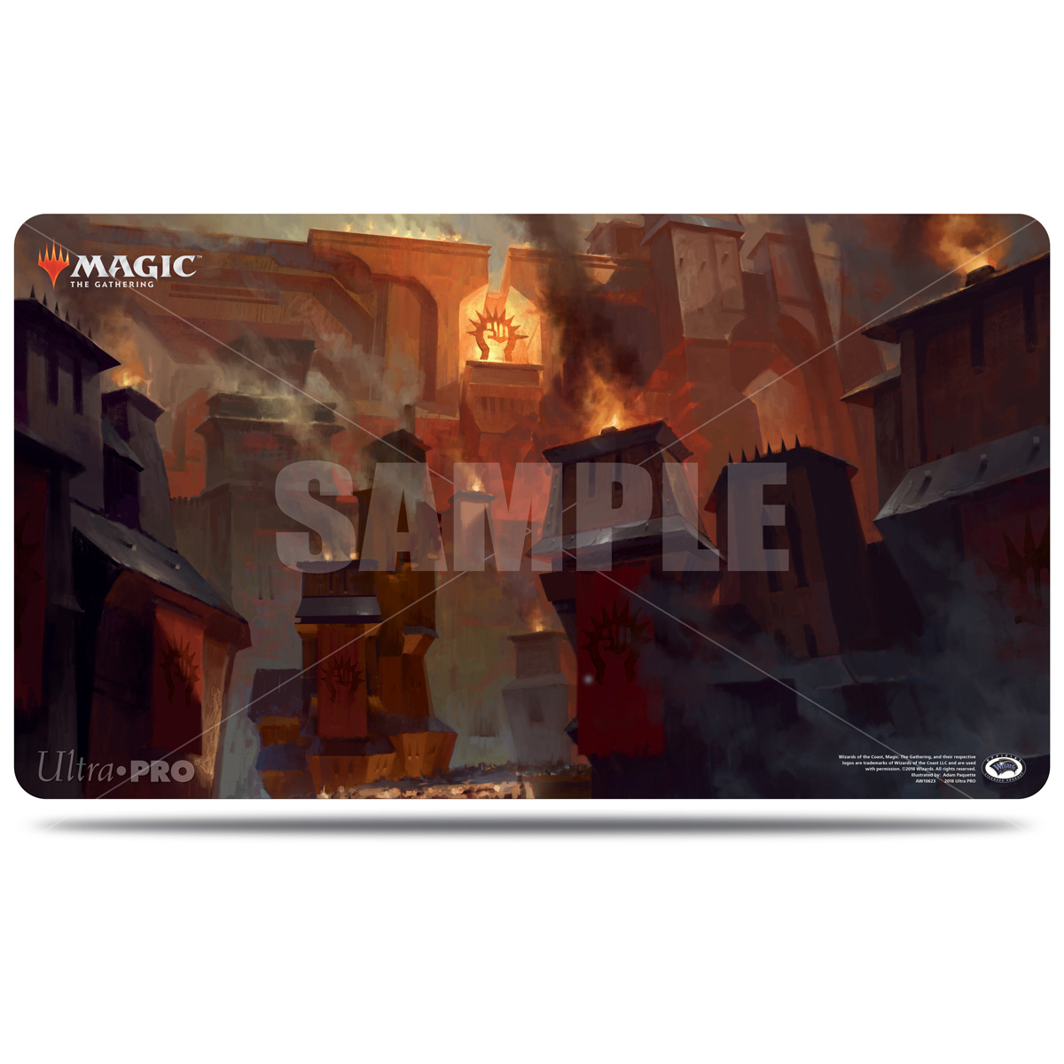 Guilds of Ravnica Sacred Foundry Playmat