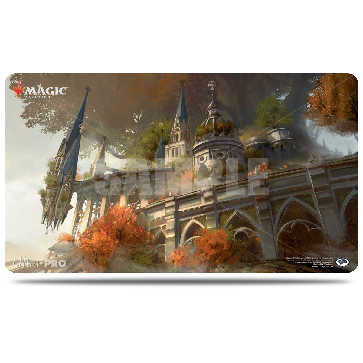 Guilds of Ravnica Temple Garden Playmat