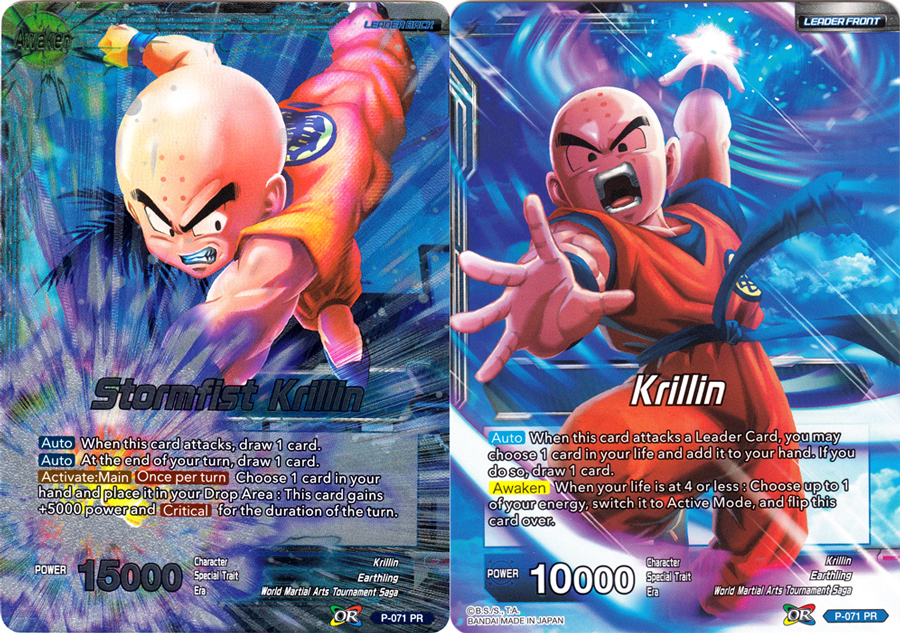 Krillin // Stormfist Krillin - P-071 - Promo