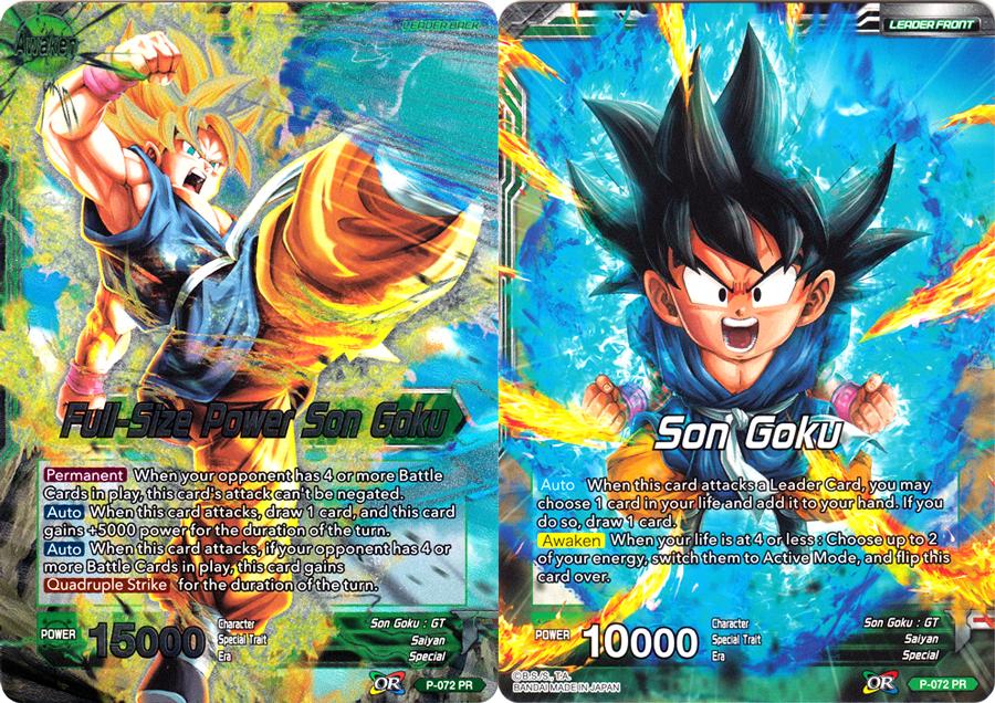 Son Goku // Full-Size Power Son Goku - P-072 - Promo