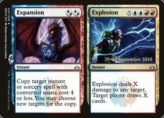 Expansion // Explosion - Foil - Prerelease Promo