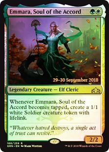 Emmara, Soul of the Accord - GRN Prerelease - Foil