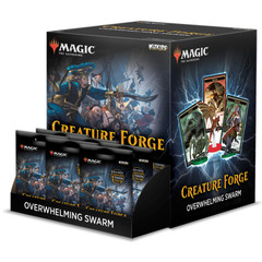 Magic: The Gathering Creature Forge - Overwhelming Swarm Display
