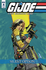 G.I. Joe: A Real American Hero Silent Option #4 (Of 4) (Cover B - Lo)