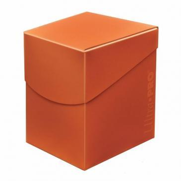 Ultra Pro: Eclipse PRO 100+ Pumpkin Orange Deck Box