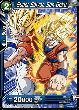 Super Saiyan Son Goku - BT5-029 - C - Foil