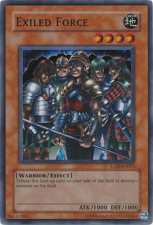 Exiled Force - LOD-023 - Super Rare - Unlimited Edition