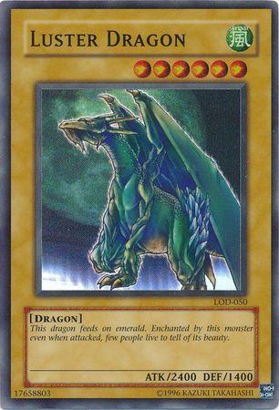 Luster Dragon - LOD-050 - Super Rare - Unlimited Edition