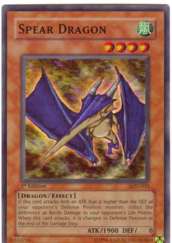 Spear Dragon - LOD-035 - Super Rare - 1st Edition