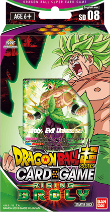 Dragon Ball Super - Series 6 Starter Deck - Rising Broly - Deck 8