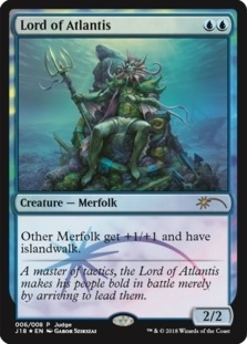 Lord of Atlantis - Foil DCI Judge Promo