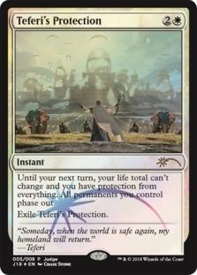 Teferis Protection - Foil DCI Judge Promo