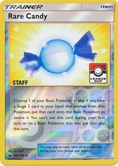Rare Candy - 142/168 - Staff League Cup Promo