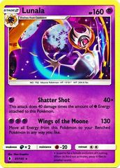 Lunala  - 61/145  - Shattered Holo - Theme Deck Exclusives