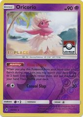 Oricorio - 55/145 - 1st Place League Promo - Reverse Holo