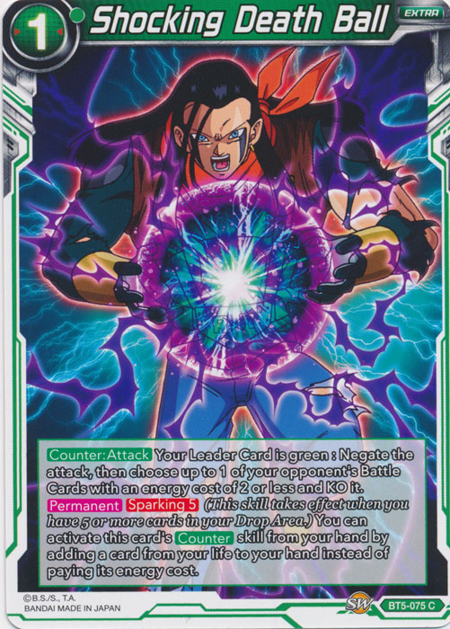 Shocking Death Ball - BT5-075 - C
