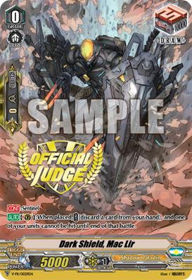 Dark Shield, Mac Lir - V-PR/0029EN - PR