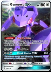 Genesect GX - 130/214 - Ultra Rare on Channel Fireball
