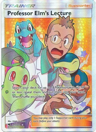 Professor Elm's Lecture - 213/214 - Ultra Rare - Full Art