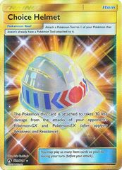 Choice Helmet - 229/214 - Secret Rare