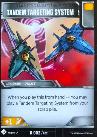 Tandem Targeting System (SDCC 2018 Exclusive)