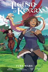 Legend Of Korra - Turf Wars Library Edition Hardcover
