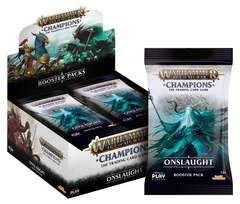 Warhammer Age of Sigmar Champions - Onslaught Booster Box
