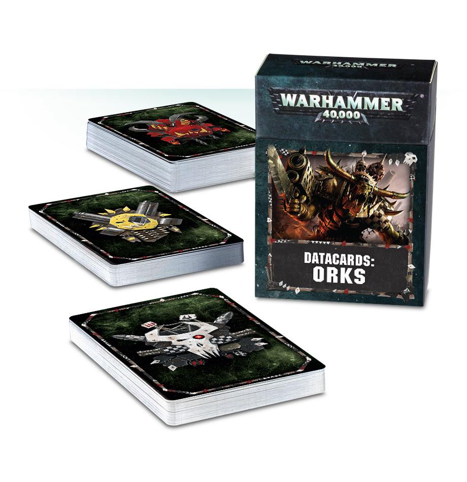 Datacards: Orks (English)