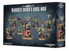 Orks Warboss Grukk'S Boss Mob