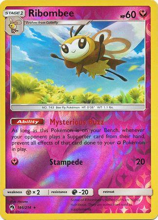 Unown 92//214 Reverse Holo Lost Thunder Mint Pokemon Card