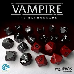 Vampire: The Masquerade Dice Set (20)