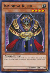 Immortal Ruler - SR07-EN009 - Common - 1st Edition on Channel Fireball