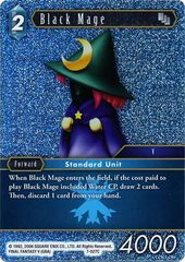 Black Mage - 7-027C - Foil on Channel Fireball
