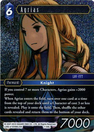 Agrias - 7-106L - Foil
