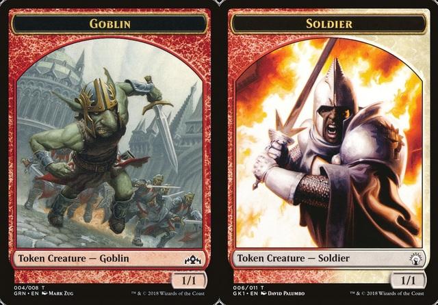 (RW) Soldier // Goblin Token