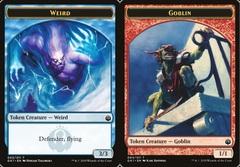 Weird Token // Goblin Token