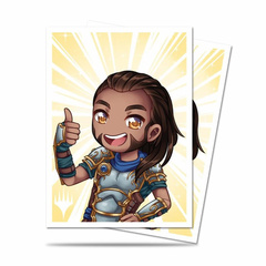 Ultra PRO - MTG Chibi Collection Gideon Good Job 100 Count Standard Sleeves (86911)