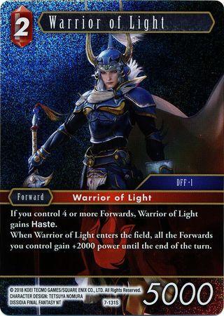 Warrior of Light - 7-131S - Foil