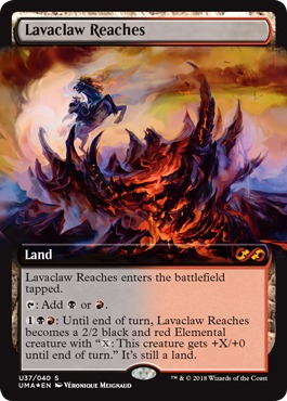 Lavaclaw Reaches - Foil