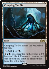 Creeping Tar Pit - Foil on Channel Fireball