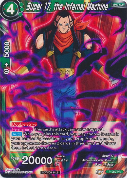 Super 17, the Infernal Machine - P-080 - PR - Foil