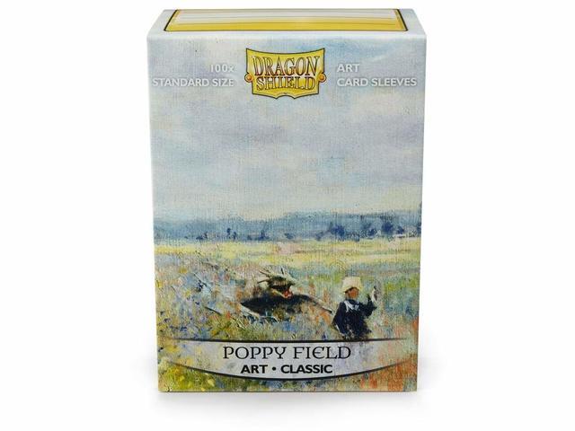 Dragon Shield Sleeves: Classic - Poppy Field (100)