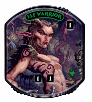 Ultra Pro - Relic Tokens: Lineage Collection - Elf Warrior