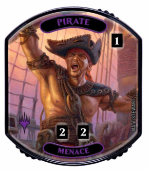Ultra Pro - Relic Tokens: Lineage Collection - Pirate (Menace)