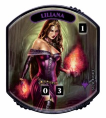 Ultra Pro - Relic Tokens: Lineage Collection - Liliana (Steve Argyle)