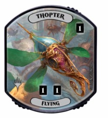 Ultra Pro - Relic Tokens: Lineage Collection - Thopter (Flying) - Foil