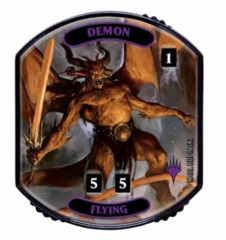 Ultra Pro - Relic Tokens: Lineage Collection - Demon (Flying) - Foil