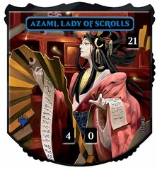 Ultra Pro - Relic Tokens: Legendary Collection - Azami, Lady of Scrolls - Foil