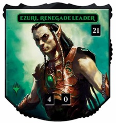 Ultra Pro - Relic Tokens: Legendary Collection - Ezuri, Renegade Leader - Foil
