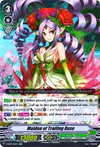 Maiden of Trailing Rose - V-EB03/016 - RR